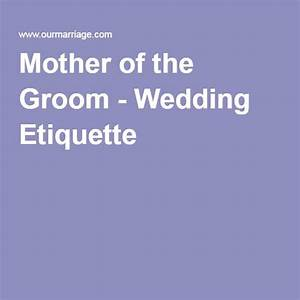 25 best wedding etiquette ideas on pinterest groom With wedding invitation etiquette parents of the groom