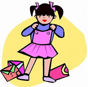Getting Ready For School Clipart - Clipart Suggest