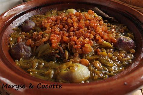 la cuisine de maryse tagine sucré salé aux oignons et raisins secs maryse