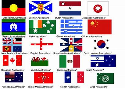 Flags Australian Heritage Flag Australia Different Cultural