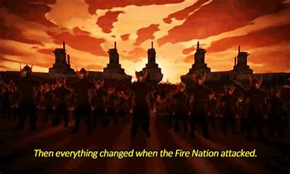 Fire Avatar Nation Gifs Last Airbender Attacked