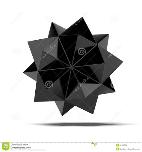 Abstract Black Shapes by Abstract Black Shape Stock Illustration Image Of