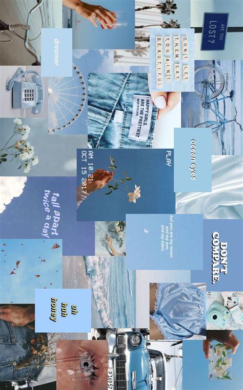 blue aesthetic desktop wallpaper aesthetic desktop