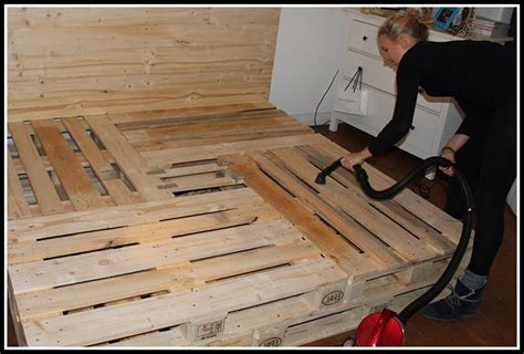 Paletten Bett Ohne Lattenrost  Betten  House Und Dekor