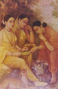 File:Shakuntala Composes a Message.jpg - Wikimedia Commons