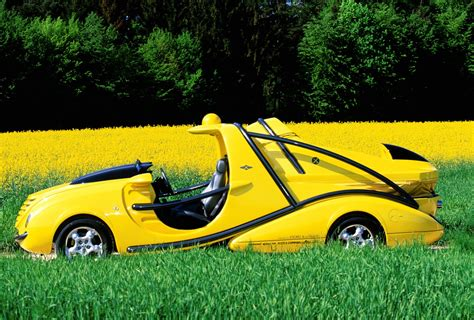 In 1999, Rinspeed Built a Yellow Hovercraft Carrier Called ...