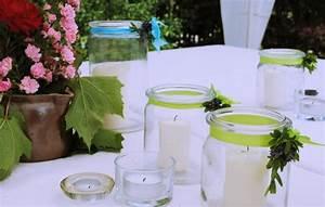 Tischdeko Geburtstag Basteln : tischdeko f r gartenparty glas windlichter mit gr nen b ndern garten windlicht garten und ~ Eleganceandgraceweddings.com Haus und Dekorationen