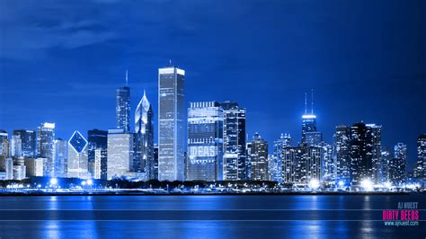 dirty deeds desktop wallpaper chicago skyline