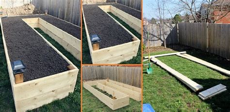 step by step to build a u shaped raised garden bed and 11