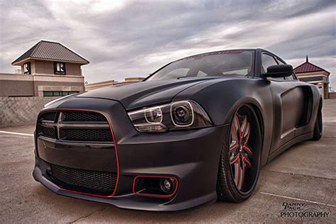charger hellcat body kit hellcat beware this widebody charger is a real terror