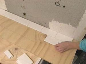How To Tile Bathroom Walls And ShowerTub Area How Tos DIY