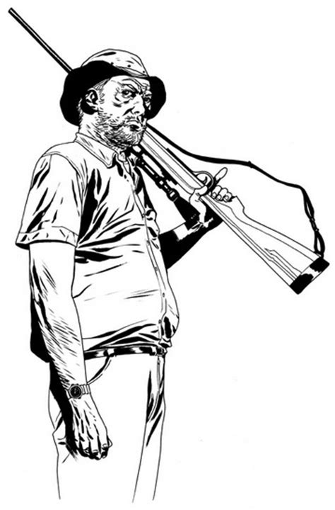 walking dead coloring page coloring page book  kids