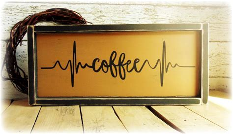 239 likes · 3 talking about this. Coffee Bar Sign, Rustic Kitchen Decor, Coffee Lover Gift, Coffee Themed Kitchen, Handmade ...