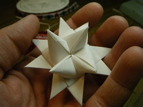 What About Pie Make A German Paper Star To Hang On Your