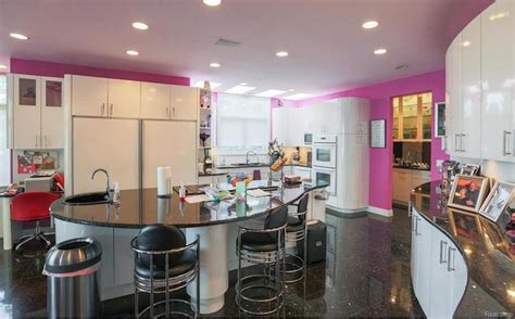 time capsule house features colorful  interior design