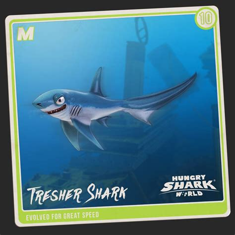 thresher shark hungry shark wiki fandom powered  wikia