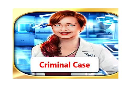 download criminal cases for android
