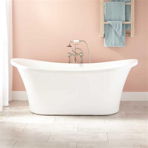 "67"" Kepler Acrylic Freestanding Tub  Bathtubs Bathroom"