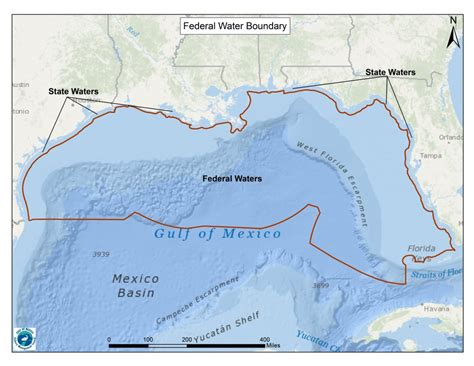 state fishing regulations gulf water fed mexico boundary texas mississippi wildlife parks