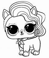 Coloring Lol Surprise Fur Trapper Pets Pet Dolls Trending Days sketch template