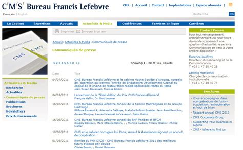 bureau lefebvre cms bureau francis lefebvre