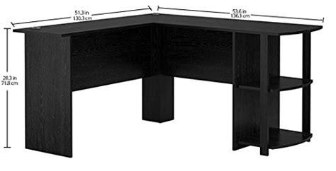 ameriwood l shaped desk assembly ameriwood home dakota l shaped desk with bookshelves