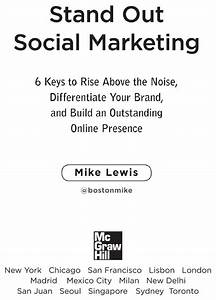 Stand Out Social Marketing: 6 Keys to Rise Above the Noise ...