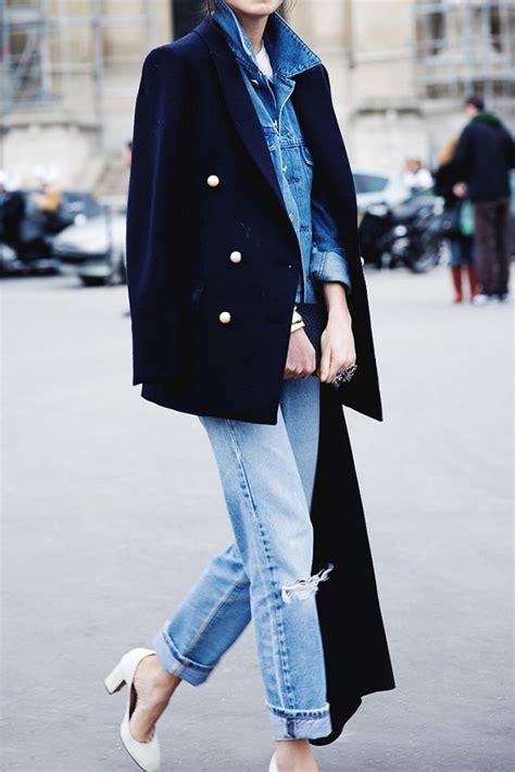 comment porter une veste en jean comment porter sa veste en jean en hiver les 201 claireuses