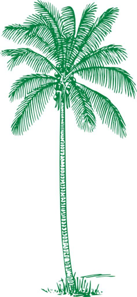 green palm tree clip art  clkercom vector clip art