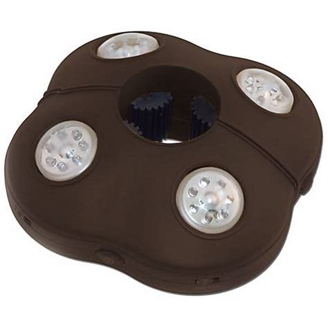 Battery Operated Umbrella Lights battery operated cordless led umbrella light n4851