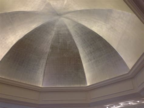 silver painted dome ceiling entry pinterest ceilings  silver
