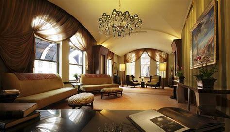 Rendering for villa living room curtains  Interior Design
