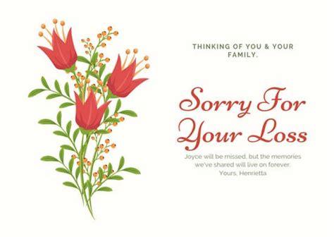 customize  sympathy card templates  canva