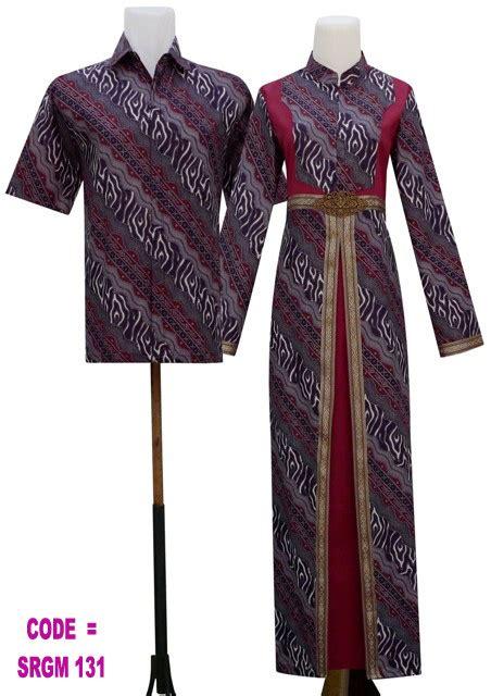 Gamis Batik Srgm 131  Koleksi Baju Batik Modern