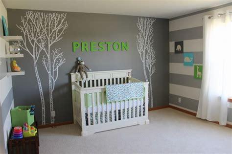 ambiance chambre bebe photo ambiance chambre bébé gris et