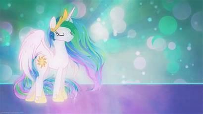 Pony Princess Background Celestia Unicorn Desktop Backgrounds
