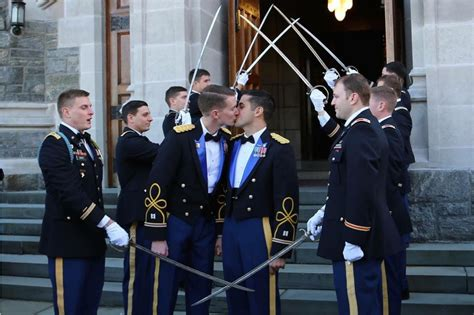 Military Academy Hosts First Wedding Of Active Duty Gay