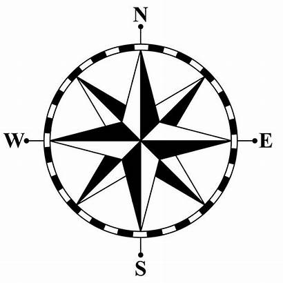 Clipart Royalty Compass Clip Rose Project