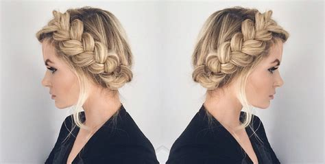 different styles to braid hair stunning braided wedding hair styles for 2017 different