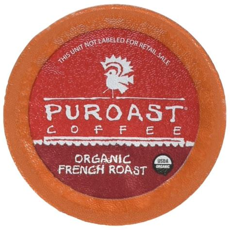 Puroast low acid coffee® is 100% coffee with low acid levels. Puroast Low Acid Coffee Organic Single Serve, 2.0 Keurig Compatible French Roast, 12 Count ...