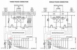 3 Phase Transfer Switch Wiring Diagram
