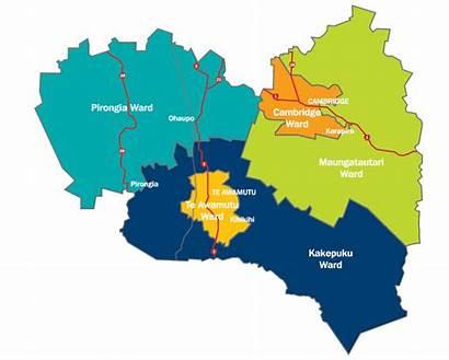 Council Waipa District Map Fresh Urban