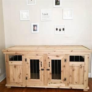 Jroskam and i built a dog kennel solid wood with metal for Wooden indoor dog pen