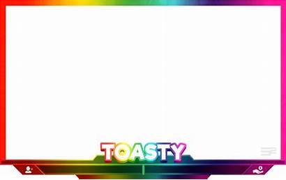 Facecam Overlay Rainbow Hashtag Transparent Vippng Clipart