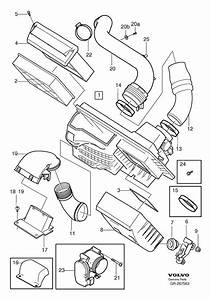 2005 Volvo S40 T5 Engine Parts Diagram