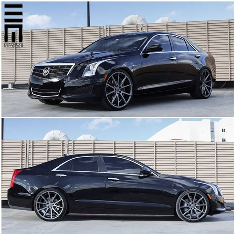 Lowered Cadillac Ats by Exclusive Motoring Worldwide Cadillac Ats Lowered On 20
