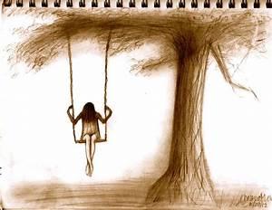 Depression by DarkHorse918   Art   Pinterest   Drawings