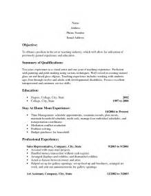 free easy resume template word doc 3679 resumes for stay at home moms with no work experience 66 related docs www clever