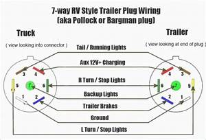 Light 7 Pin Trailer Plug Wiring Diagram