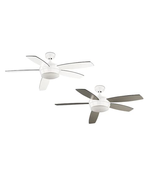 contemporary white ceiling fan modern and quiet ceiling fan white or nickel